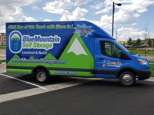 BlueMountain Free Move-In Truck